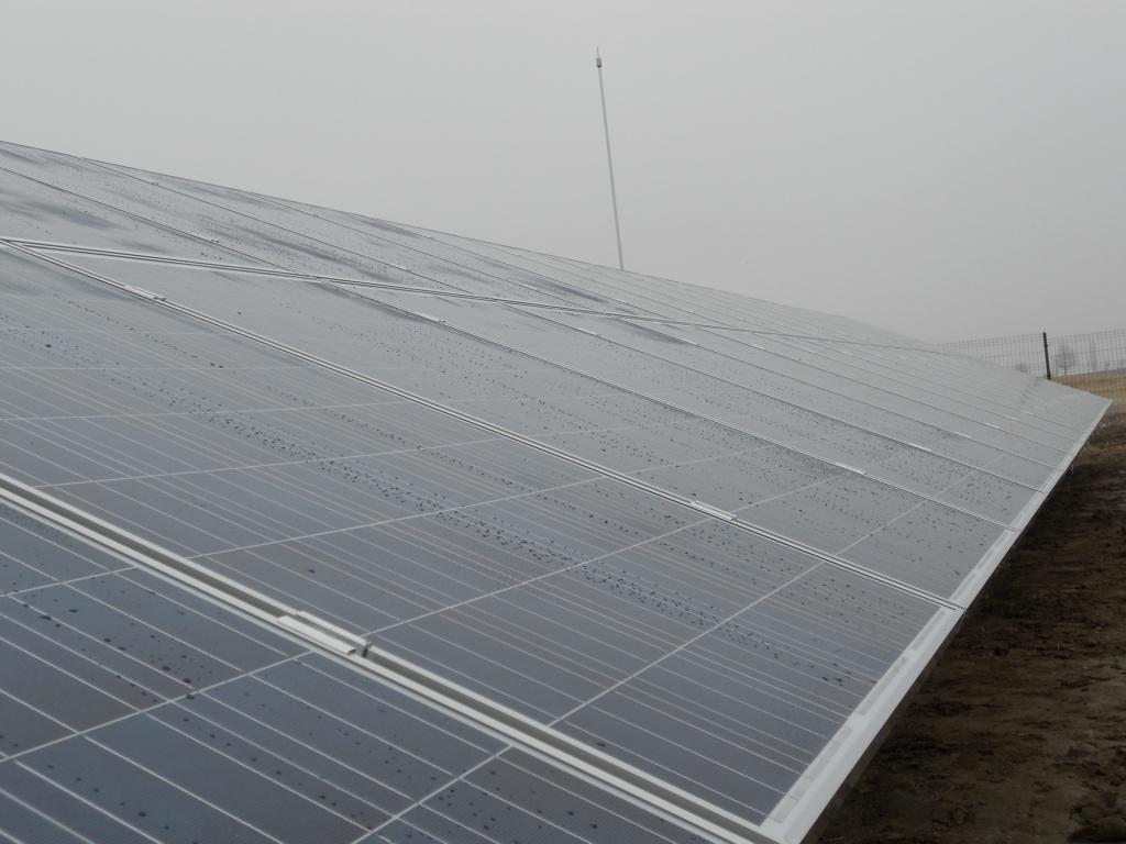200kWp наземна фотоволтаична централа край Сандански