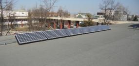 Фотоволтаична централа върху покрива на Техническия университет в гр. София