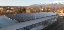 Покривна фотоволтаична електроцентрала с мощност 30kW и модули Q-Cells